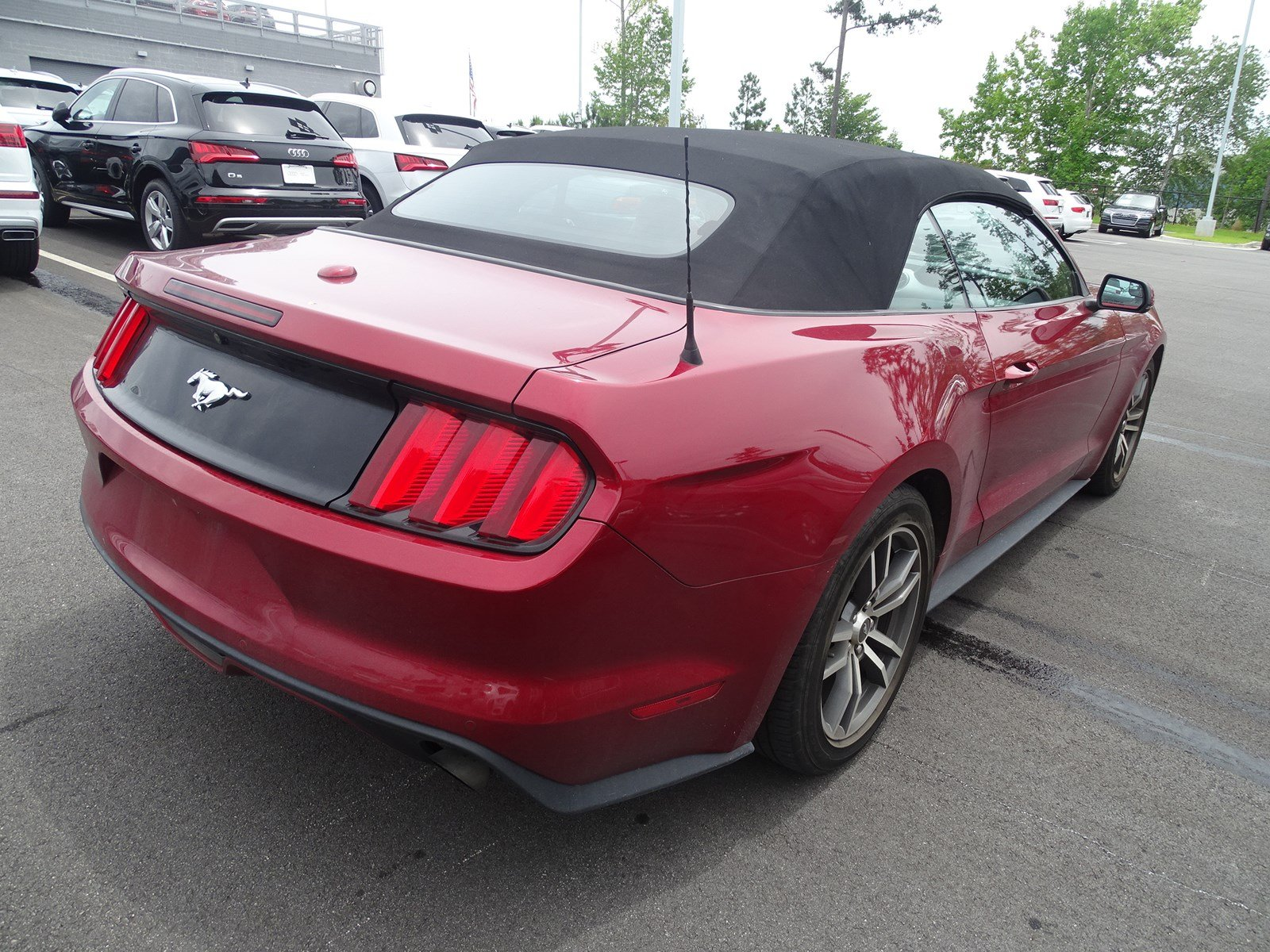 Pre owned 2015 ford mustang ecoboost premium rwd