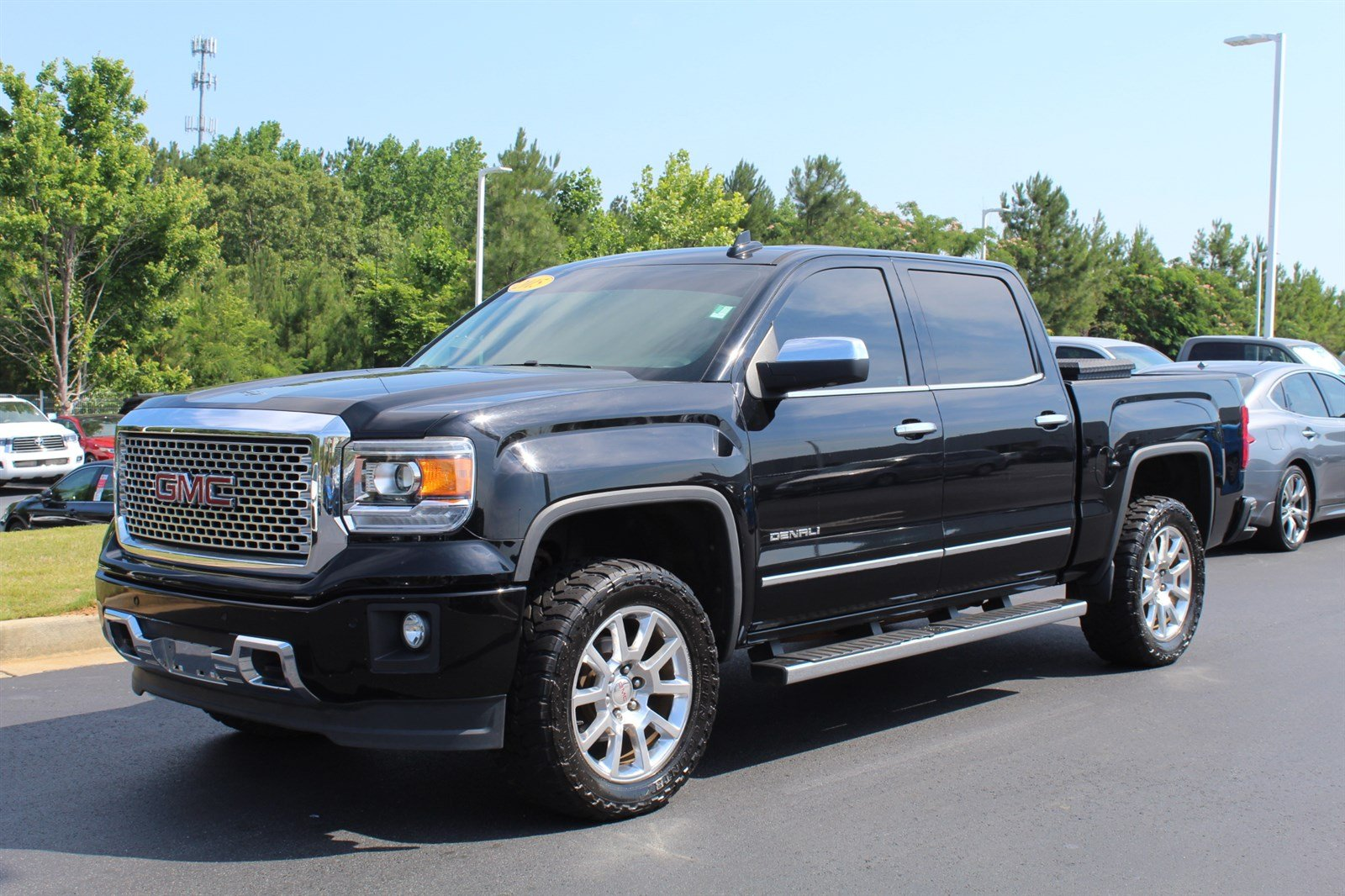 2015 Gmc Sierra Denali >> Pre Owned 2015 Gmc Sierra 1500 Denali Crew Cab Pickup For Sale