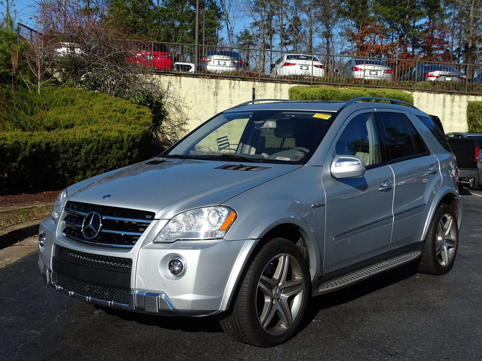 Pre Owned 2010 Mercedes Benz M Class Ml 63 Amg Sport Utility For