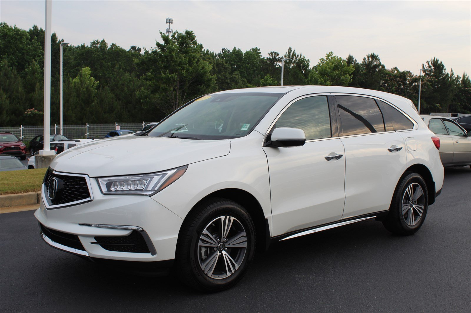 Pre Owned 2017 Acura Mdx 3 5l