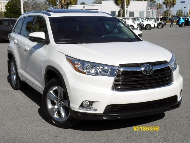 Certified Pre-Owned 2016 Toyota Highlander Limited Platinum AWD