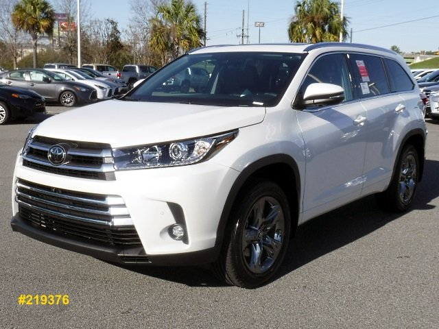 New 2019 Toyota Highlander Limited Platinum AWD