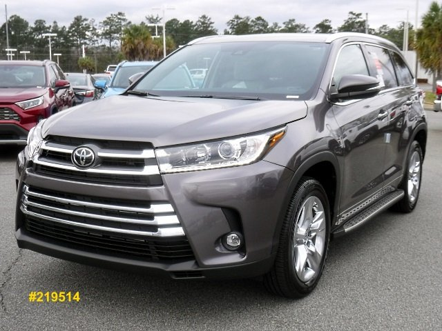 Toyota Highlander Limited >> New 2019 Toyota Highlander Limited