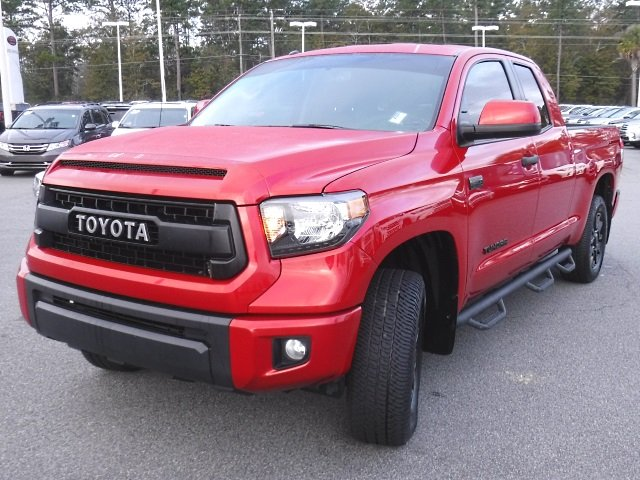 Certified Pre Owned 2017 Toyota Tundra Trd Pro Double Cab 5 7l V8 4wd