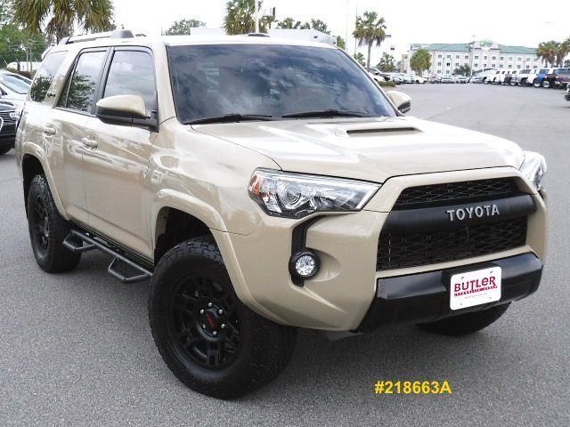 Certified Pre Owned 2016 Toyota 4Runner TRD Pro 4WD Sport Utility