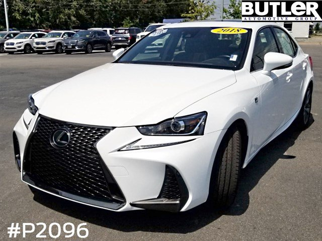 Lexus Is 350 >> Pre Owned 2018 Lexus Is 350 F Sport