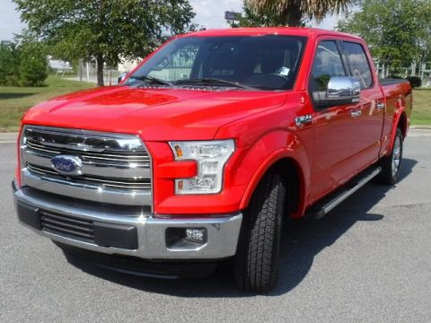 Pre-Owned 2016 Ford F-150 Lariat SuperCrew 4WD