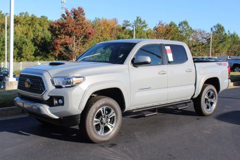 New 2019 Toyota Tacoma 4WD TRD Sport Double Cab 5' Bed V6 AT (Natl)