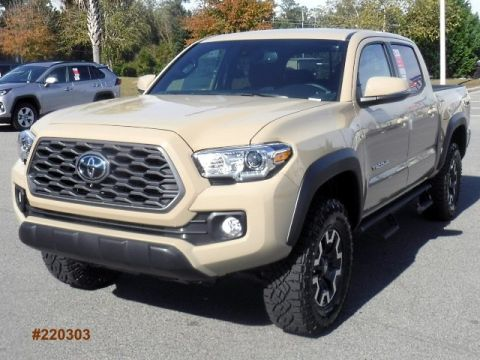 New 2020 Toyota Tacoma 4WD TRD Off Road Double Cab