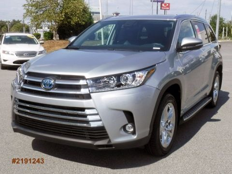 New 2019 Toyota Highlander Hybrid Limited AWD