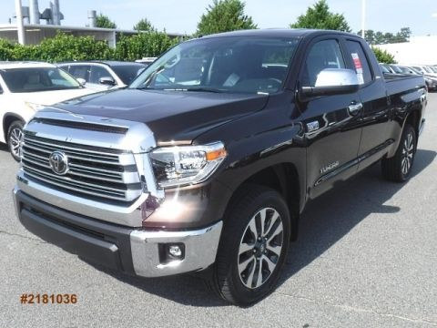 New 2018 Toyota Tundra Limited Large V8 FFV Double Cab 4WD