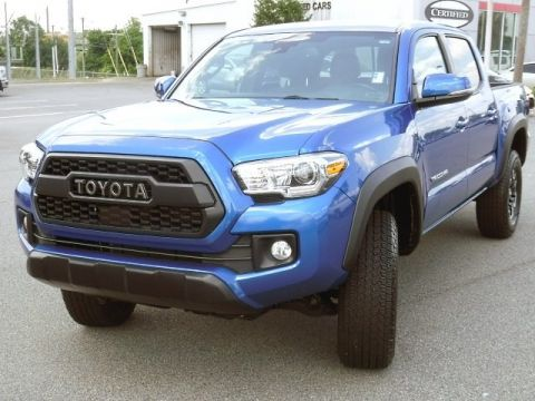 Certified Pre-Owned 2018 Toyota Tacoma TRD Off Road DC 4WD