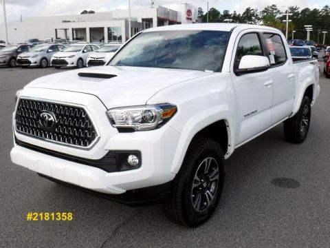 New 2018 Toyota Tacoma TRD Sport Double Cab 4WD
