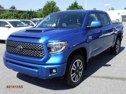 New 2018 Toyota Tundra SR5 CrewMax Large V8 Short Bed