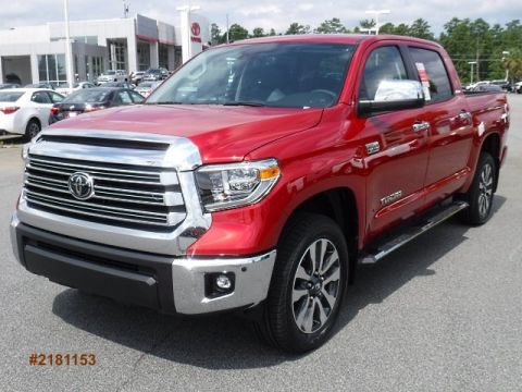 New 2018 Toyota Tundra Limited CrewMax Large V8 Short Bed 4WD