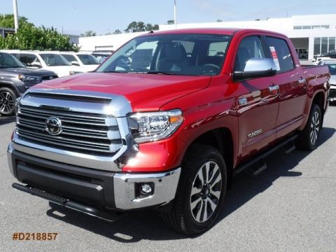 New 2018 Toyota Tundra Limited CrewMax Large V8 FFV Short Bed 4WD